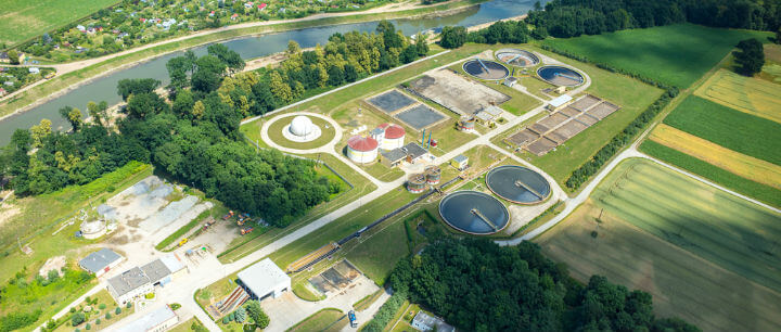 how much energy does a wastewater treatment plant use?