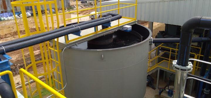 what is sludge thickening?
