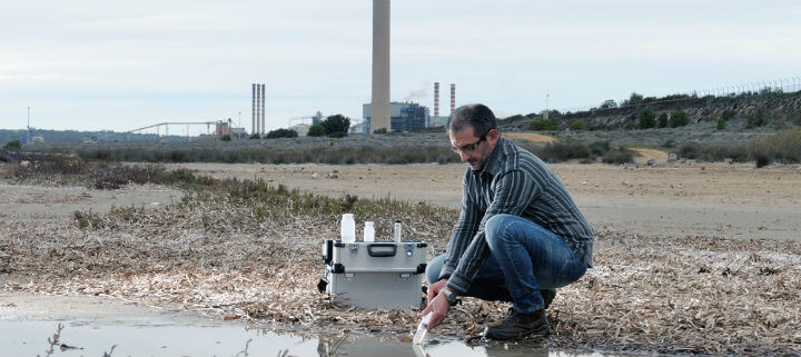 how to reduce turbidity in water samples