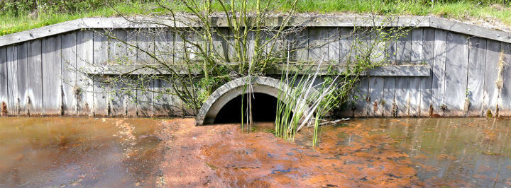 how can surface water become contaminated